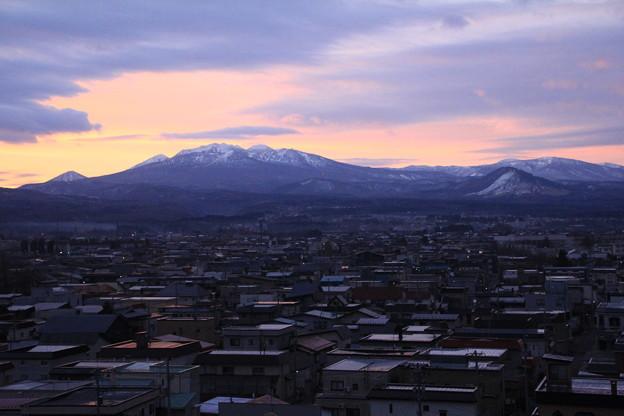 八甲田山の朝景色01