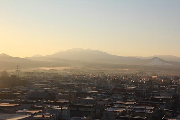 八甲田山の朝景色