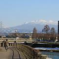 八甲田山のある風景