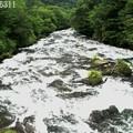 竜頭の橋からの竜頭ノ滝