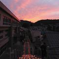 写真: 尾道灯りまつり2014-01 夕焼け