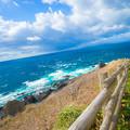 写真: 北海道が見えてきた