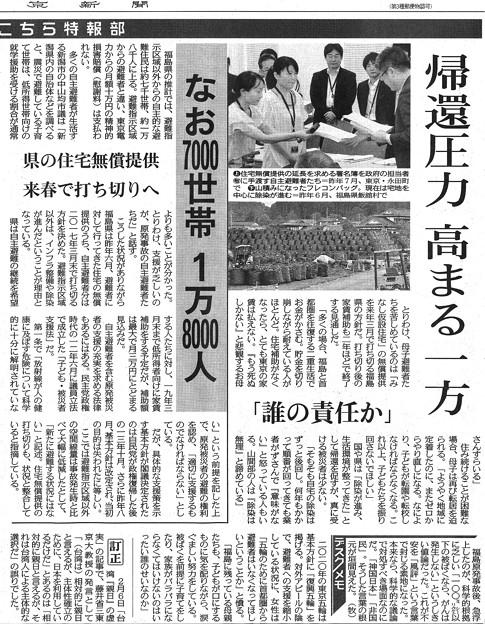 写真: 福島原発事故・自主避難した母子の五年間_2