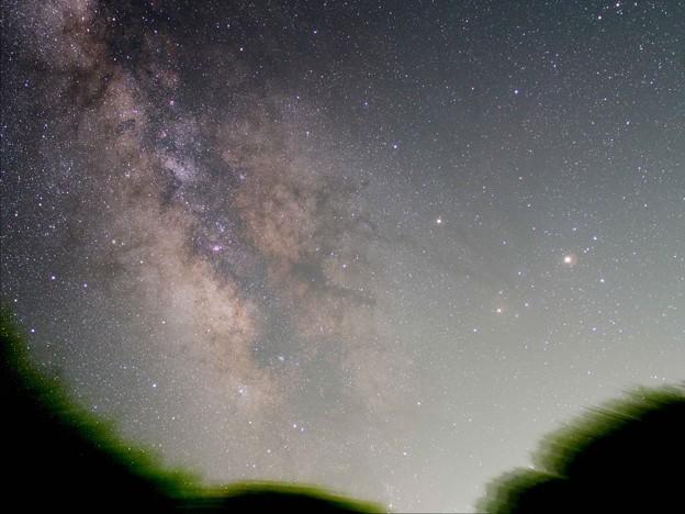 火星とさそり座と銀河