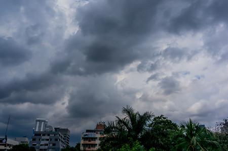 天気が悪くなってきた