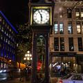 写真: 蒸気時計