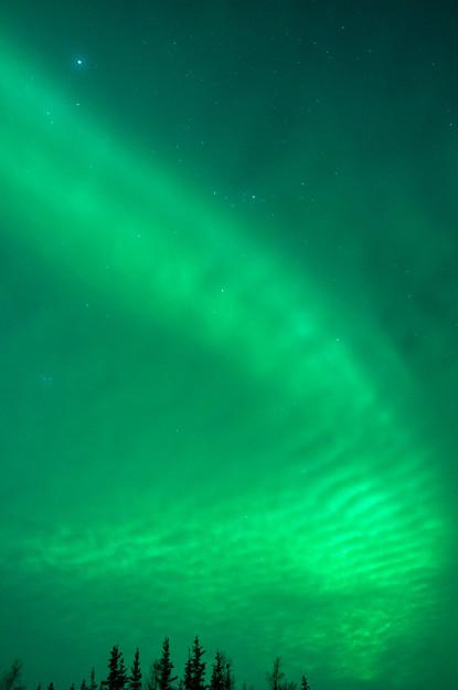 雲に光が反射してしまう