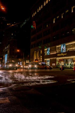 ニューヨークの冬の風物詩