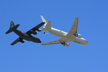 KC-767 C-130H 空中給油デモ IMG_9300_2