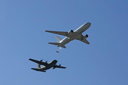 KC-767 C-130H 空中給油デモ IMG_9297_2