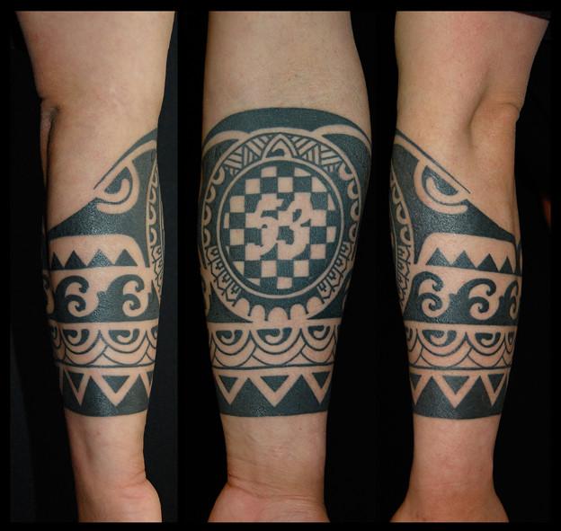 タトゥー 大阪 刺青 トライバル 民族模様 tattoo tribal タトゥースタジオ