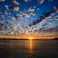 八代海の夕景