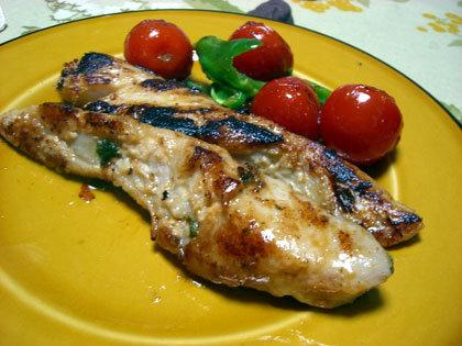 真鱈の粕漬け、オリーブオイル焼き。