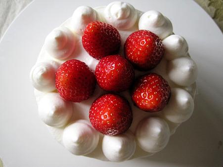 王道いちごのケーキ