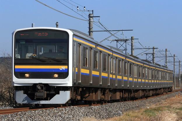 Photos: 344M 209系千マリC617編成 6両