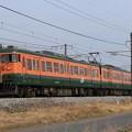 Photos: 741M 115系高タカT1022編成 3両