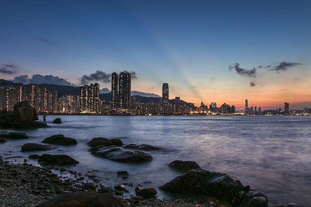 Hong Kong Summer's Sunset