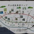 写真: 中山道板鼻宿マップ
