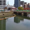 被爆70周年記念事業 猿猴橋復元工事 広島市南区猿猴橋町 - 的場町
