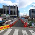 被爆70周年記念事業 猿猴橋復元工事 2015年8月-2016年3月 広島市南区的場町1丁目 猿猴橋南詰