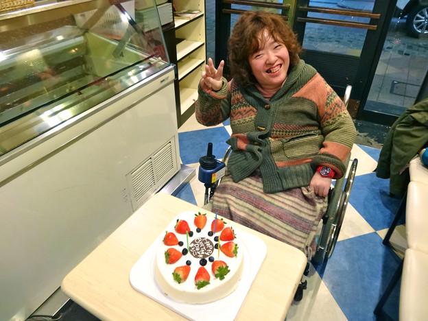 まりちゃんヽ(・∀・)ノお誕生日 2016年1月3日 広島市中区立町