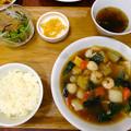 上海常 広島店 八宝菜定食 広島市南区皆実町2丁目 ゆめタウン広島