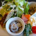 洋麺食堂 BONBON ランチ サラダ 広島市中区大手町3丁目