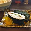 写真: うどん屋 一本 おにぎらず 肉 梅 onigiri 広島市中区弥生町