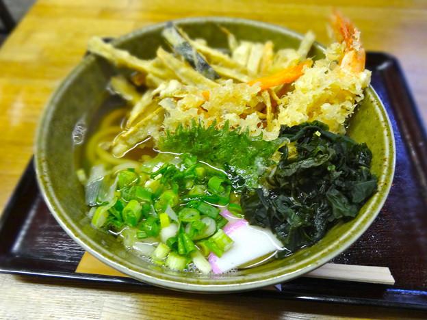 睦月 天婦羅うどん tempura udon 呉市西中央5丁目