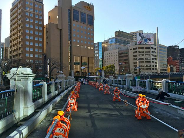 Photos: 被爆70周年記念事業 猿猴橋復元工事 2016年2月10日 広島市南区的場町1丁目