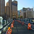 被爆70周年記念事業 猿猴橋復元工事 2016年2月10日 広島市南区的場町1丁目