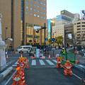 被爆70周年記念事業 猿猴橋復元工事 2016年2月10日 広島市南区的場町1丁目 猿猴橋南詰