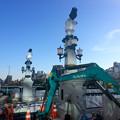 被爆70周年記念事業 猿猴橋復元工事 広島市南区猿猴橋町 猿猴橋 北詰 親柱 2016年3月15日