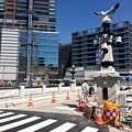 被爆70周年記念事業 猿猴橋復元工事 広島市南区的場町1丁目 猿猴橋 南詰 2016年3月22日