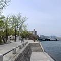 Photos: 広島平和記念公園 元安川右岸 親水テラスから相生橋方向 広島市中区中島町
