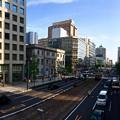 袋町横断歩道橋から南方向 広島市中区袋町 - 大手町