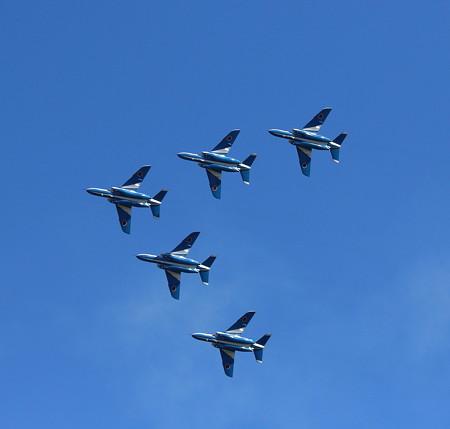 飛行機(16)−ブルーインパルス(3)、入間航空祭
