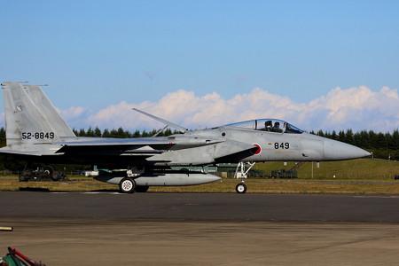 飛行機(17)−ジェット戦闘機の帰投、入間航空祭の終わり