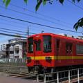 スカイツリーを入れるの難しい・・・。 @東武鉄道亀戸線 東あずま~...