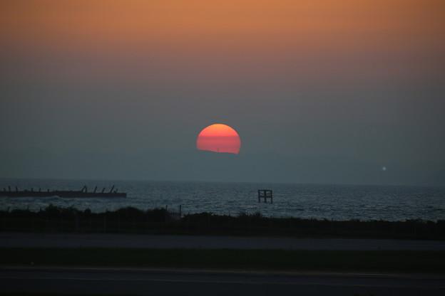 慶良間の夕日