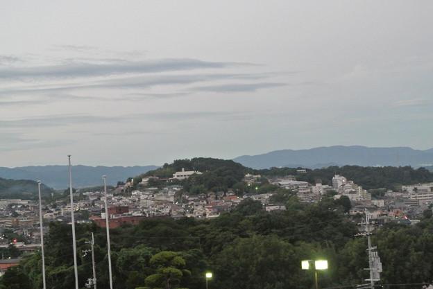 サンヒル柏原からの早朝の景色 (10)