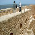 Photos: 城壁が高い