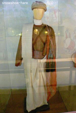 ジェルバ島の婚礼衣装(婿殿)