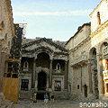 ディオクレティアヌス宮殿の中庭