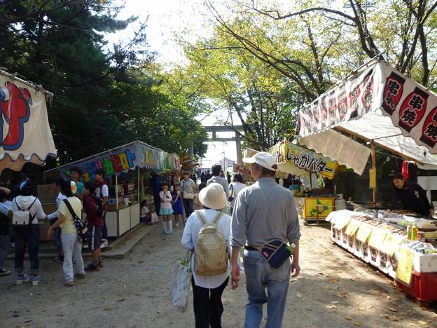 P1050265 大山緑地・春日神社(おまんと祭り会場)