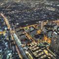 阿倍野ハルカスからの夜景