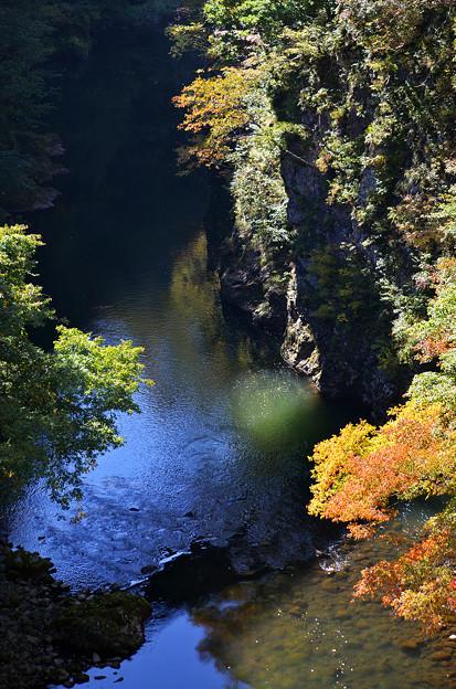 梵字川渓谷の流れ その2