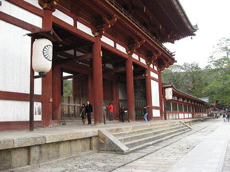 奈良寺院散策・世界遺産「東大寺大仏殿」