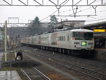 185系特急はまかいじ(小淵沢駅)7