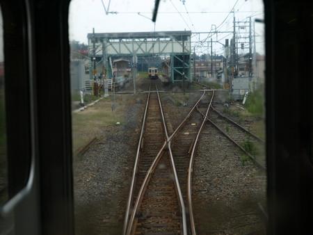 日光線の車窓(今市駅→日光駅)2